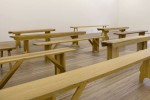Francis Cape: Utopian Benches, 2013